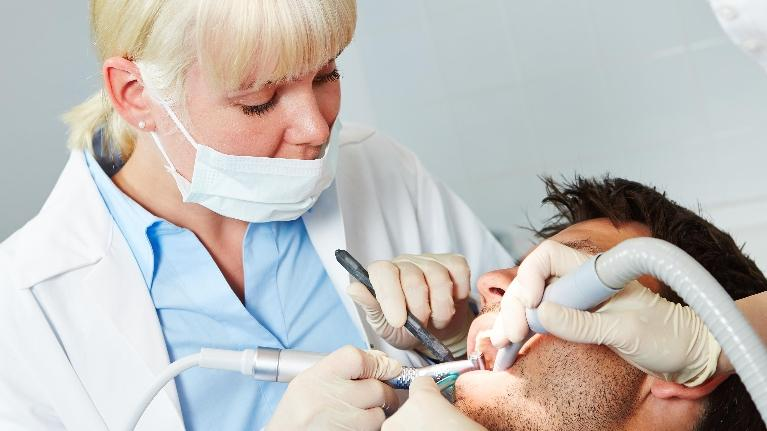Patient in Dental Chair | Dental Anxiety in Denver